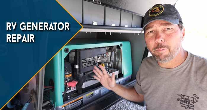 rv generator repair