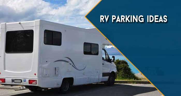 rv parking ideas