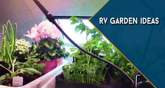 rv garden ideas
