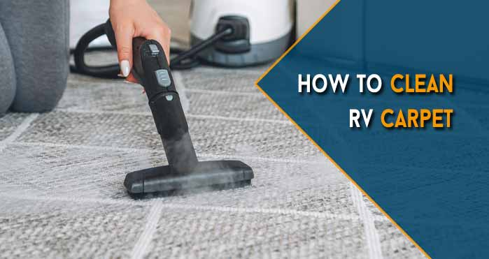 how to clean rv carpet
