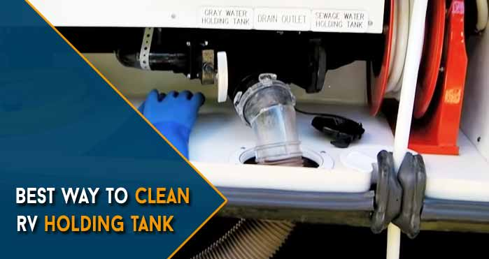 best way to clean rv holding tank