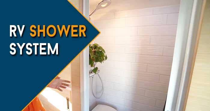 rv shower system
