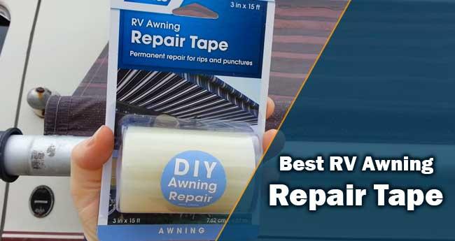 Best RV Awning Repair Tape
