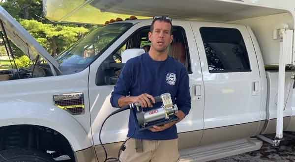 Can I Use A Small Portable Compressor For My RV