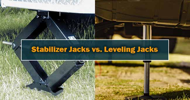 Leveling Jacks vs Stabilizer Jacks