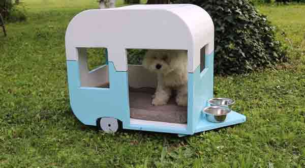 Equip Your Camper With A Pet House, Bed, Or Crate