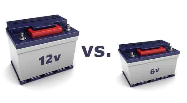 Similarities Between 6 Volt vs 12 Volt travel trailer Batteries