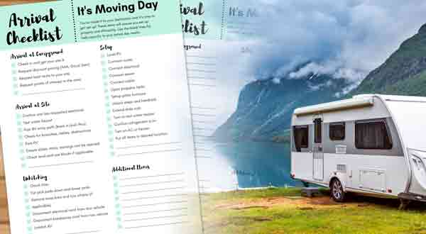 Why You Need RV Camping Checklist