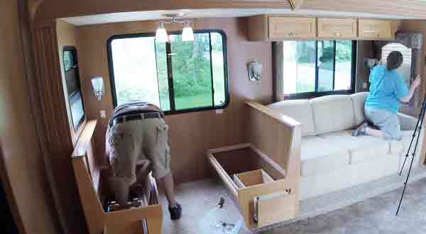 Ensure Your Safety When Moving Furniture Through an RV Door