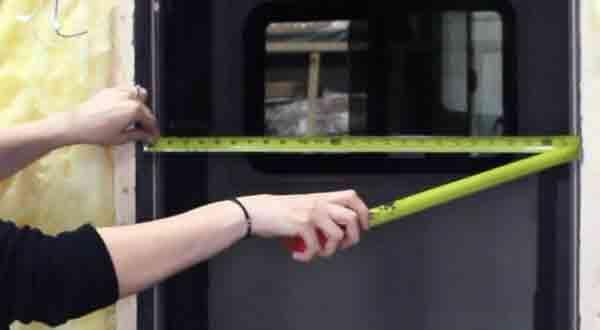 Measure the RV Door Size