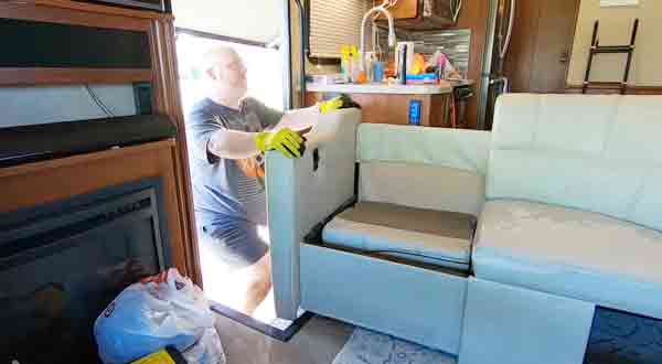 These are Methods on How to Get Furniture Through RV Door
